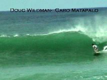 Cabo Matapalo6-8 foot faces breaking over some shallow rocks in certain places with good conditions